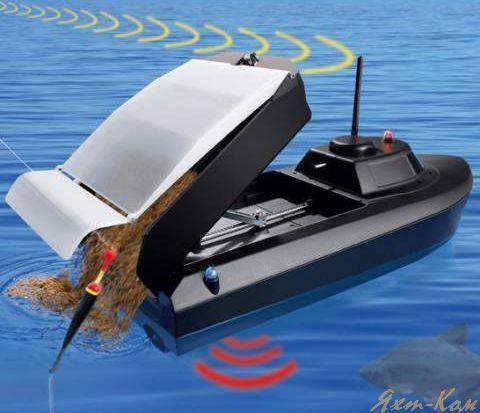 катер для прикормки рыбы своими