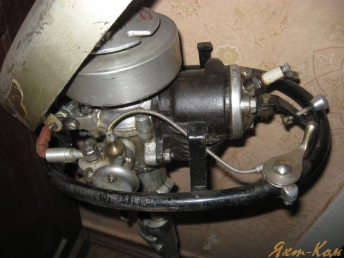 лодочный мотор чайка ремонт