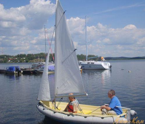 Водный парус для лодки