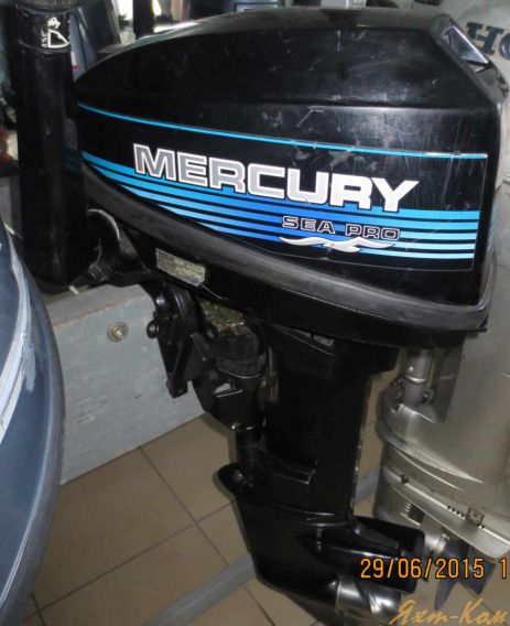 год выпуска лодочного мотора меркурий