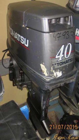 ремонт лодочных моторов тохатсу в москве