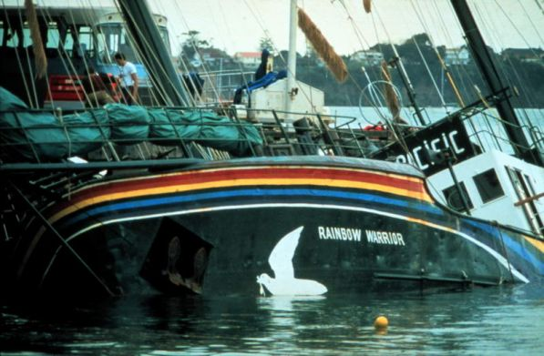 Greenpeace Rainbow Warrior 1