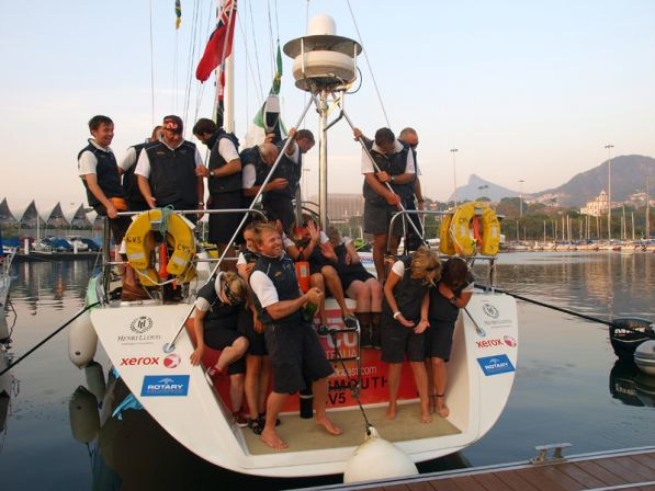 Gold Coast Australia wins second stage of Clipper 11-12 Round the World Yacht Race