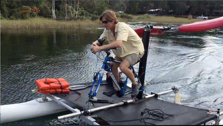 воздушная тяга для лодок