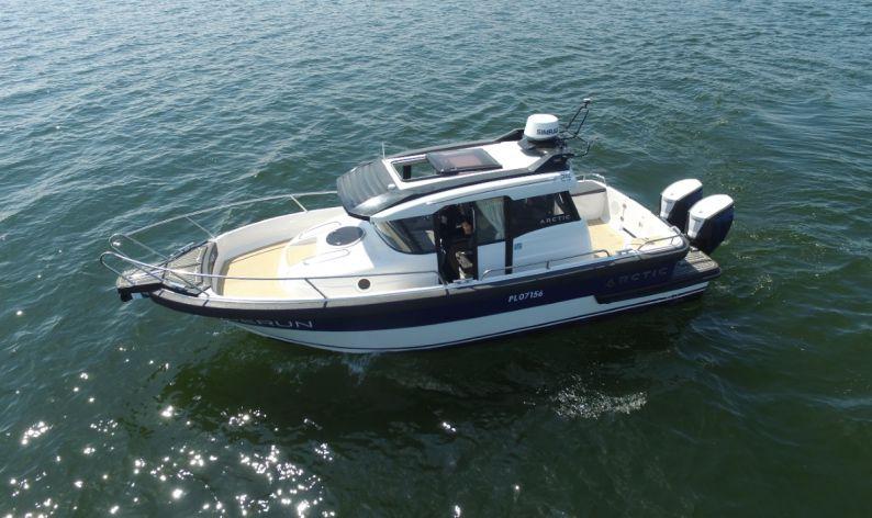 круизные катера с подвесным мотором