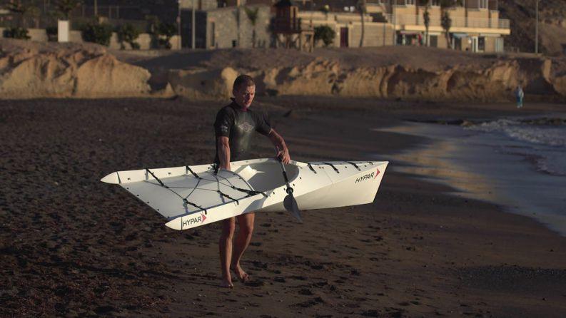 Новый складной каяк Hypar Kayak