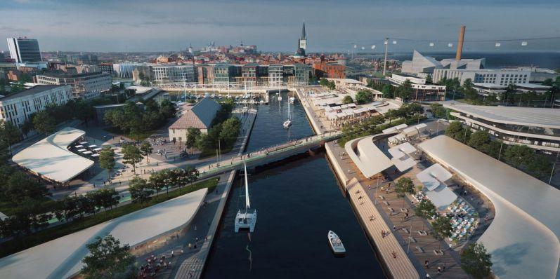 Реконструкция порта Таллинна